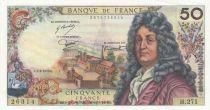 France 50 Francs Racine 05-06-1975 - Serial H.271 - XF+