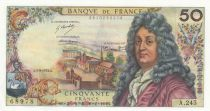 France 50 Francs Racine 05-09-1974 - Serial A.245 - aUNC