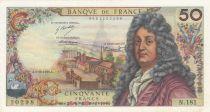 France 50 Francs Racine 05-11-1971 - Serial N.181 - XF+