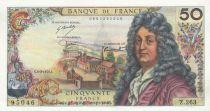 France 50 Francs Racine 06-03-1975 - Serial Z.263 - aUNC