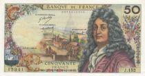 France 50 Francs Racine 06-11-1969 - Serial J.152 - XF