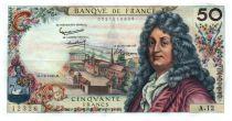 France 50 Francs Racine 07-06-1962 - Serial A.12 - XF