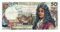 France 50 Francs Racine 07-06-1962 - Serial C.11 - XF