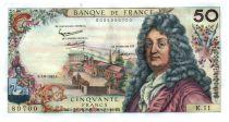 France 50 Francs Racine 07-06-1962 - Serial K.11 - XF