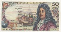 France 50 Francs Racine 07-06-1962 - Serial L.2 - VF to XF
