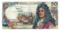 France 50 Francs Racine 07-06-1962 - Serial O.11 - XF