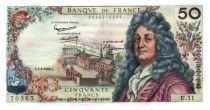 France 50 Francs Racine 07-06-1962 - Serial U.11 - XF