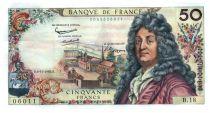 France 50 Francs Racine 08-11-1962 - Serial B.18 - XF