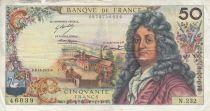 France 50 Francs Racine 08-11-1973 - Série N.232