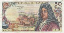 France 50 Francs Racine 10-08-1972 - Série Z.197 - TTB