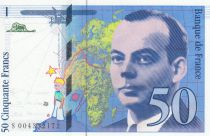 France 50 Francs Saint-Exupéry - 1992 - Serial S004
