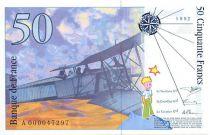 France 50 Francs Saint-Exupéry - 1992