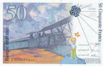 France 50 Francs Saint-Exupéry - 1992 Serial A.000047208