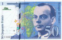France 50 Francs Saint-Exupéry - 1992 Série C006