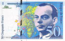 France 50 Francs Saint-Exupéry - 1992 Série F.002921689 - SPL
