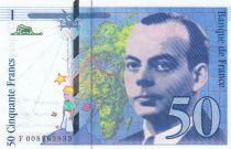 France 50 Francs Saint-Éxupéry - 1993 - Série F008