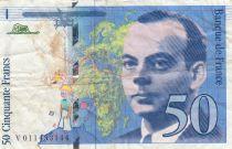 France 50 Francs Saint-Exupéry - 1993 - Série V.011453144