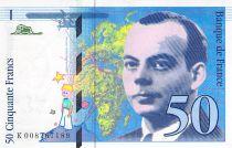 France 50 Francs Saint-Exupéry - 1993 Serial K.008767189 - AU
