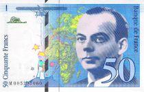 France 50 Francs Saint-Exupéry - 1993 Serial M.005207060 - AU