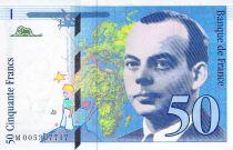 France 50 Francs Saint-Exupéry - 1993 Serial M.005307717 - aUNC