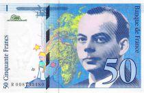 France 50 Francs Saint-Exupéry - 1993 Serial R.008733480 - UNC