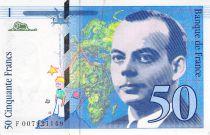 France 50 Francs Saint-Exupéry - 1993 Série F.007921149 - PSPL