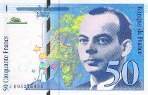 France 50 Francs Saint-Exupéry - 1993 Série J.005215033 - SPL