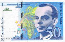 France 50 Francs Saint-Exupéry - 1993 Série S.005324598 - SPL