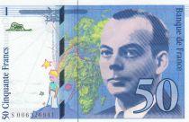 France 50 Francs Saint-Exupéry - 1993 Série S006