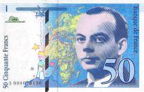 France 50 Francs Saint-Exupéry - 1993 Série S.009078130 - SPL