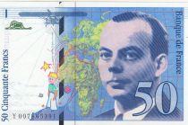 France 50 Francs Saint-Exupéry - 1993 Série Y007