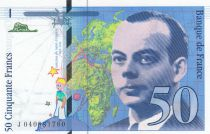 France 50 Francs Saint-Éxupéry - 1997 - J.040881760 - Neuf