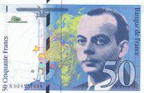 France 50 Francs Saint-Éxupéry - 1997 - N.034527638 - Neuf