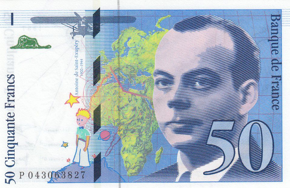 France 50 Francs Saint-Éxupéry - 1997 - P.043063827 - Neuf
