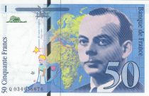 France 50 Francs Saint-Éxupéry - 1997 - Q.034056676 - aUNC - P.157Ad