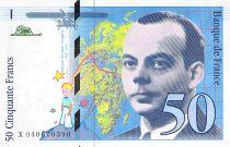 France 50 Francs Saint-Exupéry - 1997 - SPL