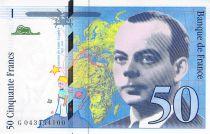 France 50 Francs Saint-Exupéry - 1997 Série G.043554100 - SPL