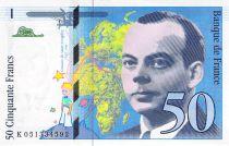 France 50 Francs Saint-Exupéry - 1999 Série K.051334592 - SPL