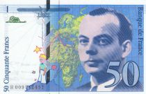 France 50 Francs Saint-Exupéry - Série H.009 - 1993