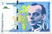 France 50 Francs Saint-Exupéry - TTB années variées 1992-1999