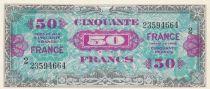 France 50 Francs Verso France 1944 - Série 2