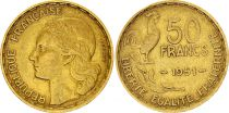 France 50 Francs Woman head - 1951