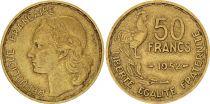 France 50 Francs Woman head - 1952