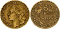 France 50 Francs Woman head - 1953 B Beamont-le-Roger