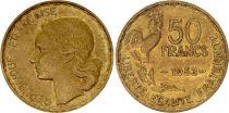 France 50 Francs Woman head - 1953