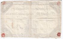 France 50 Livres France assise - 14-12-1792 - Sign. Baret - TB