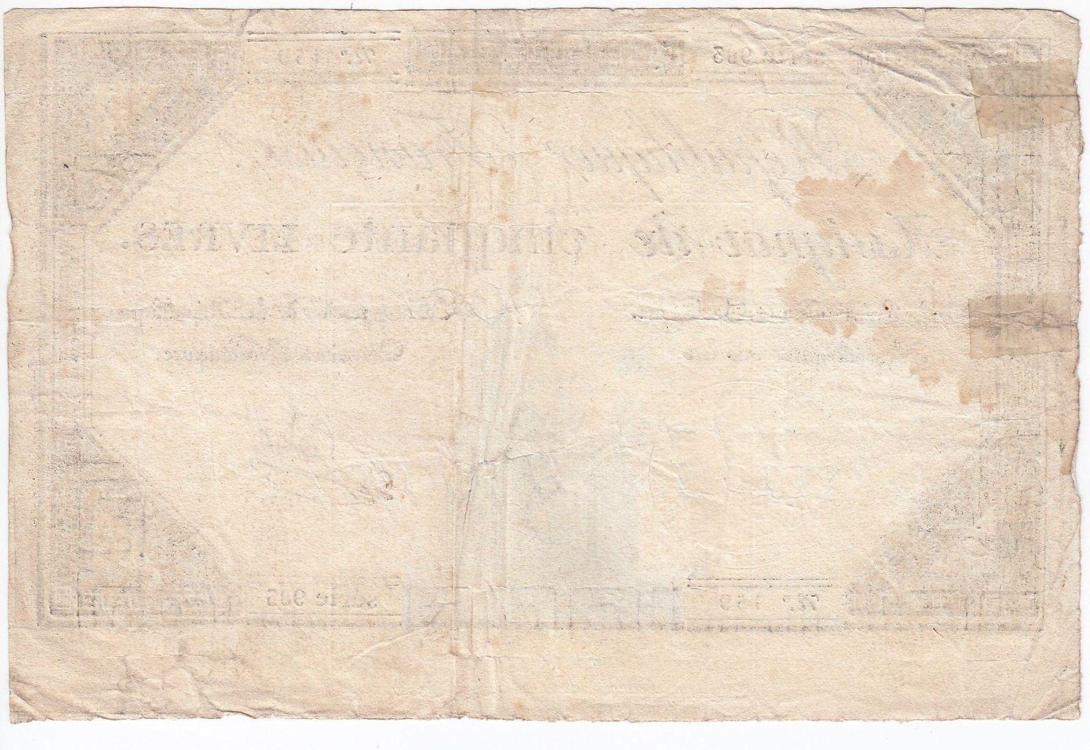 France 50 Livres France assise - 14-12-1792 - Sign. Jacob - TB+