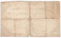 France 50 Livres France seated - 14-12-1792 - Sign. Bouché - VG to F