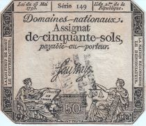 France 50 Sols Liberté et Justice (23-05-1793) -  (Faux)