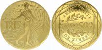 France 500 Euro Or - Monnaie de Paris - 2010 - AU - GOLD